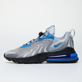 Nike Air Max 270 React Eng Lt Smoke Grey/ Battle Blue-Smoke Grey CJ0579-001