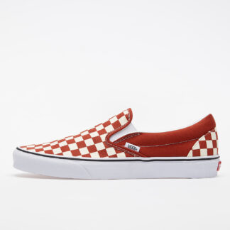 Vans Classic Slip-On (Checkerboard) Red/ True White VN0A4U38WS21