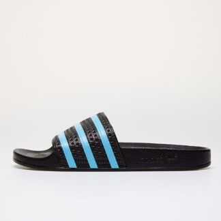 adidas Adilette Core Black/ Blue Glow/ Core Black EF5503