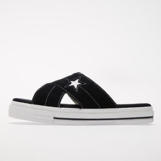 Converse One Star Sandal Black/ Egret/ White 564143C