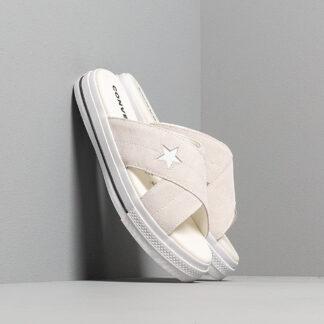 Converse One Star Sandal Egret/ Egret/ White 564144C