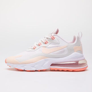 Nike W Air Max 270 React Summit White/ Crimson Tint-Light Violet CJ0619-103