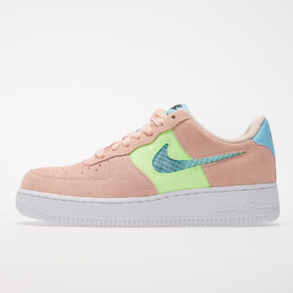 Nike Wmns Air Force 1 '07 SE Washed Coral/ Oracle Aqua-Ghost Green CJ1647-600