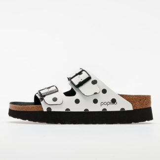 Birkenstock Arizona Pap White/ Black Dots 1015878