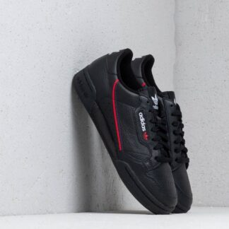adidas Continental 80 Core Black/ Scarlet/ Collegiate Navy G27707