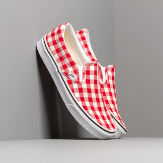 Vans Classic Slip-On (Gingham) Racing Red/ True VN0A38F7VDY1
