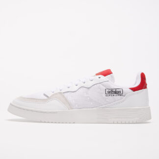 adidas Supercourt Ftw White/ Ftw White/ Scarlet EF5881
