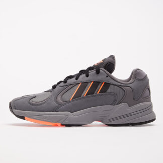 adidas Yung-1 Grey Six/ Core Black/ Signature Coral EF5348