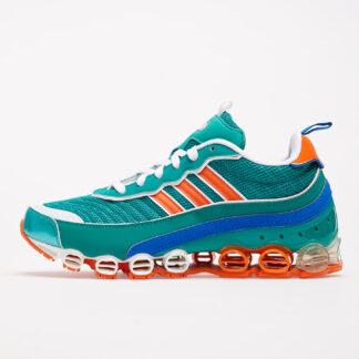 adidas Microbounce T1 Glow Green/ Orange/ Ftw White EG5395