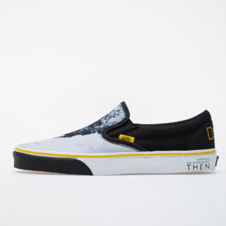 Vans Classic Slip-On (National Geographic) Black/ White-Yellow VN0A4U38WT31