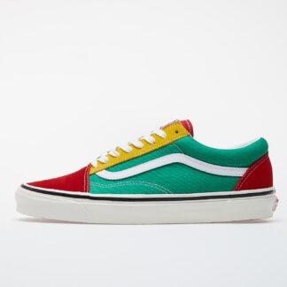 Vans Old Skool 36 DX (Anaheim Factory) Og Red/ Og Green/ Og Yellow VN0A38G2XFM1