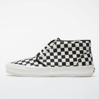 Vans OG Chukka LX (Canvas/ Checkerboard) Black/ White VN0A4U3GXC81