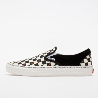 Vans Classic Slip-On V (Love) Multi/ Marshmallow VN0A3QXYW431