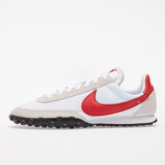 Nike Waffle Racer White/ University Red-Platinum Tint-White CN8116-100