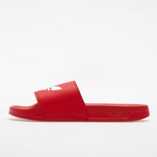 adidas Adilette Lite Scarlet/ Ftwr White/ Scarlet FU8296