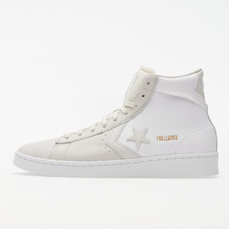Converse Pro Leather Mid Gold Standard White/ Grey 167817C