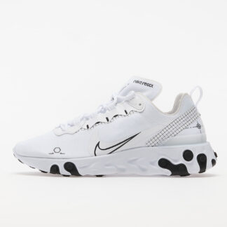 Nike React Element 55 White/ Black CU3009-100