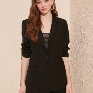 Trendyol černé dámské sako