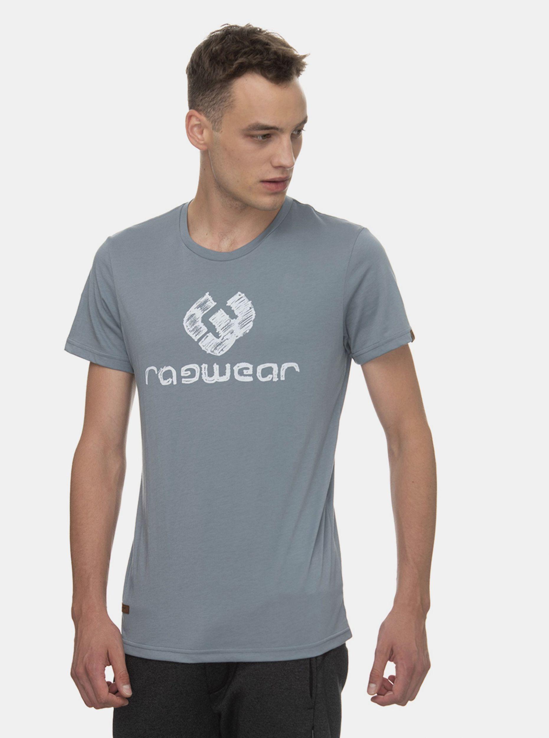 Ragwear šedé pánské tričko Charles s logem