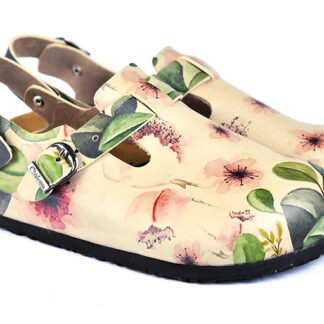 Calceo sandály Classic Sandal Flowers