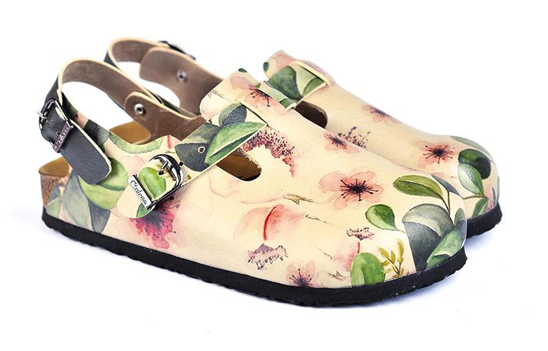 Calceo sandály Classic Sandal Flowers