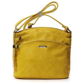Dámská crossbody kabelka žlutá - Silvia Rosa Ubuhle žlutá
