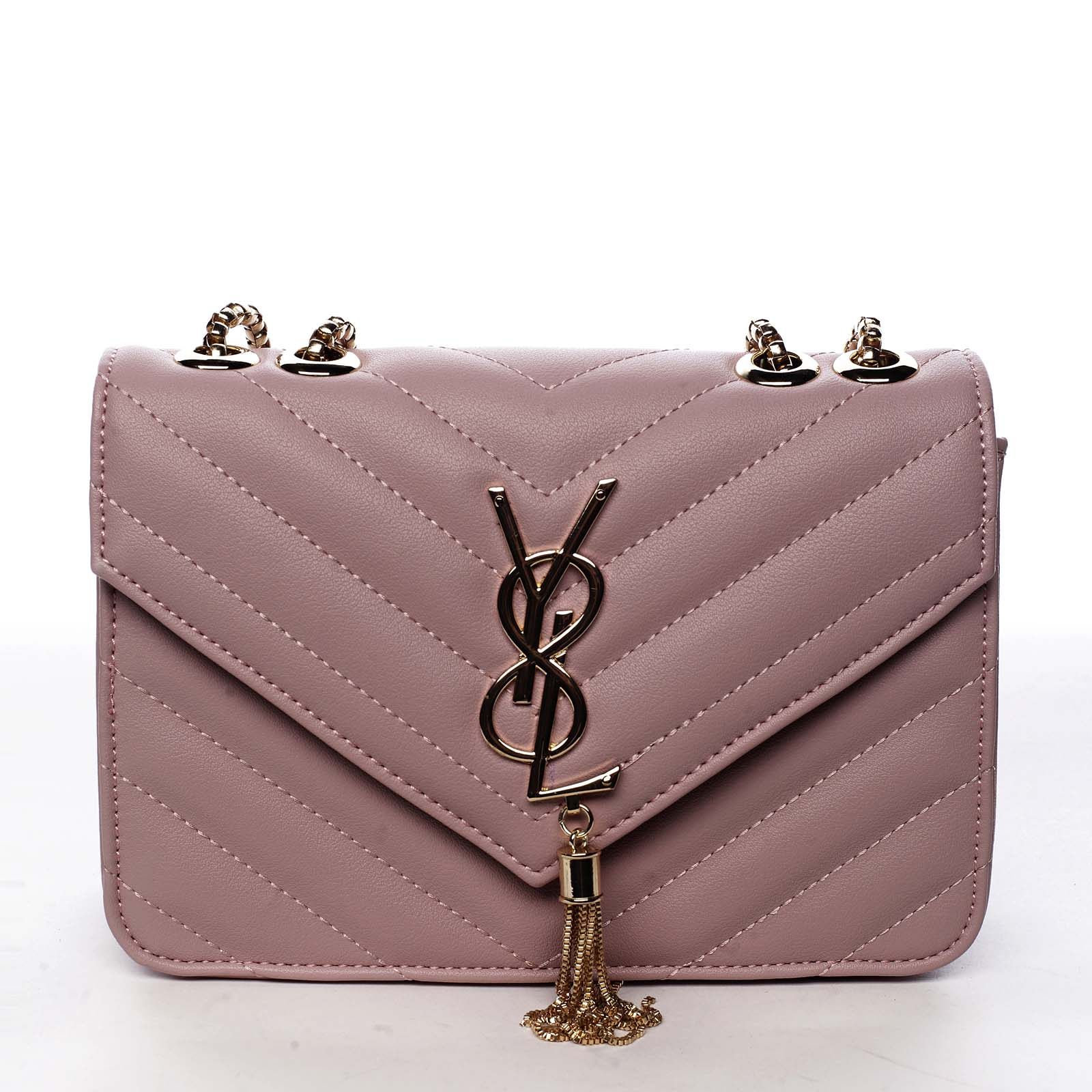 Dámská crossbody kabelka růžová - Silvia Rosa Eighteen růžová
