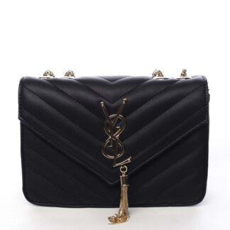 Dámská crossbody kabelka černá - Silvia Rosa Eighteen černá