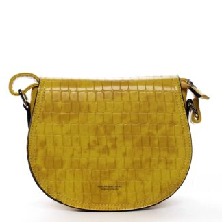 Dámská crossbody kabelka žlutá - Silvia Rosa Cheer žlutá