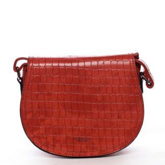 Dámská crossbody kabelka červená - Silvia Rosa Cheer červená