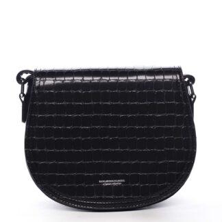 Dámská crossbody kabelka černá - Silvia Rosa Cheer černá