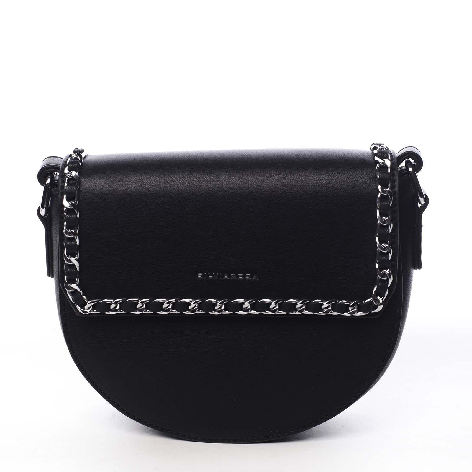 Dámská crossbody kabelka černá - Silvia Rosa Timba černá