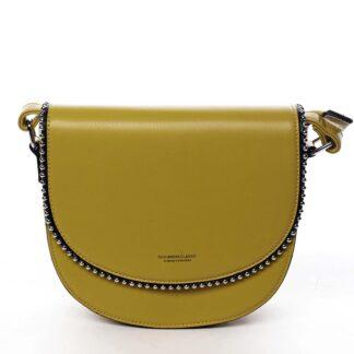 Dámská crossbody kabelka žlutá - Silvia Rosa Evolve žlutá