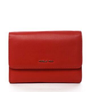 Dámské psaníčko červené - Michelle Moon F660 červená