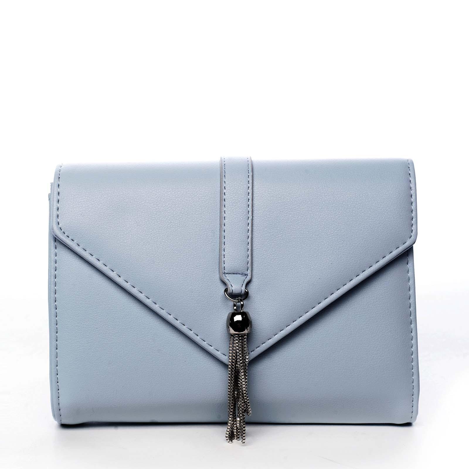 Dámské psaníčko světle modré - Michelle Moon F850 modrá