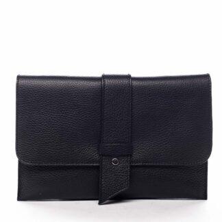 Luxusní dámská kabelka černá - ItalY Brother černá