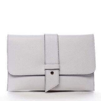 Luxusní dámská kabelka bílá - ItalY Brother bílá