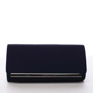 Dámské psaníčko tmavě modré - Michelle Moon D888 tmavě modrá