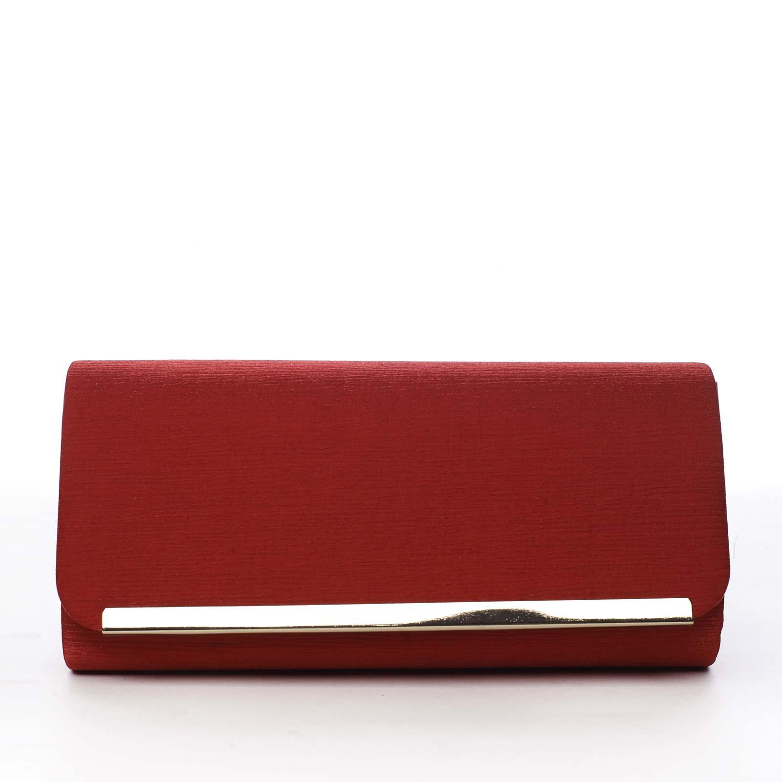 Dámské psaníčko červené - Michelle Moon D888 červená