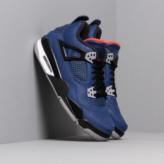 Air Jordan 4 Retro Wntr Bg Loyal Blue/ Black-White-Habanero Red CQ9745-401