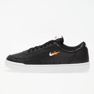 Nike Wmns Court Vintage Premium Black/ White-Total Orange CW1067-002
