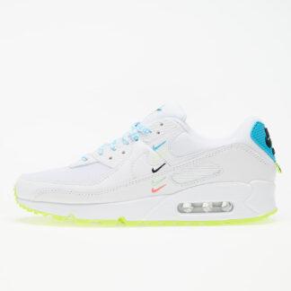 Nike W Air Max 90 Ww White/ White-Blue Fury-Volt CK7069-100