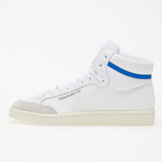 adidas Americana Hi Ftw White/ Glow Blue/ Core Black EG5522