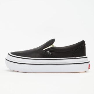 Vans Super Comfycush Slip-On (Leather) Black VN0A4U3IL3A1