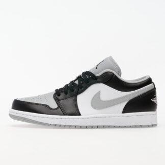 Jordan Air 1 Low Black/ Black-Lt Smoke Grey-White 553558-039