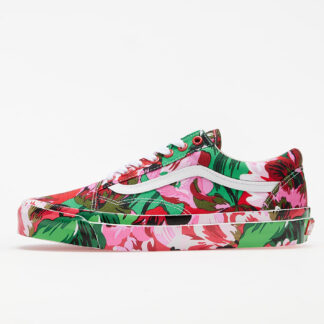 KENZO x Vans OG Old Skool LX Floral Red/ True White PFA52SN601F87.21