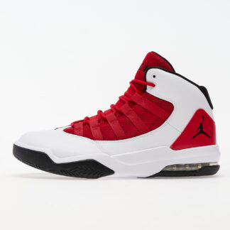 Jordan Max Aura White/ Black-Gym Red AQ9084-106
