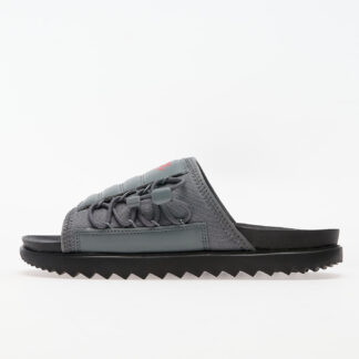 Nike Asuna Slide Black/ University Red-Smoke Grey CI8800-006