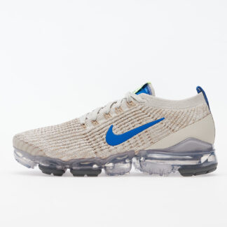 Nike Air Vapormax Flyknit 3 Light Bone/ Game Royal-Khaki-String CT1270-002