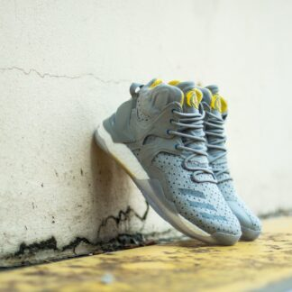 adidas Consortium x Sneakersnstuff D Rose 7 Primeknit Grey/ Core Yellow BB1946